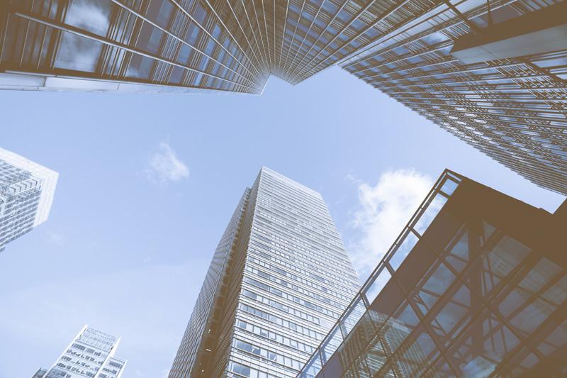 Skyscraper Business Office building, London, England, UK